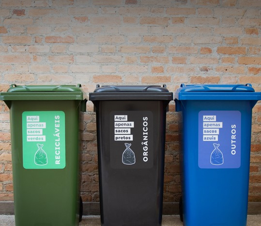 Waste is segregated into 3 type